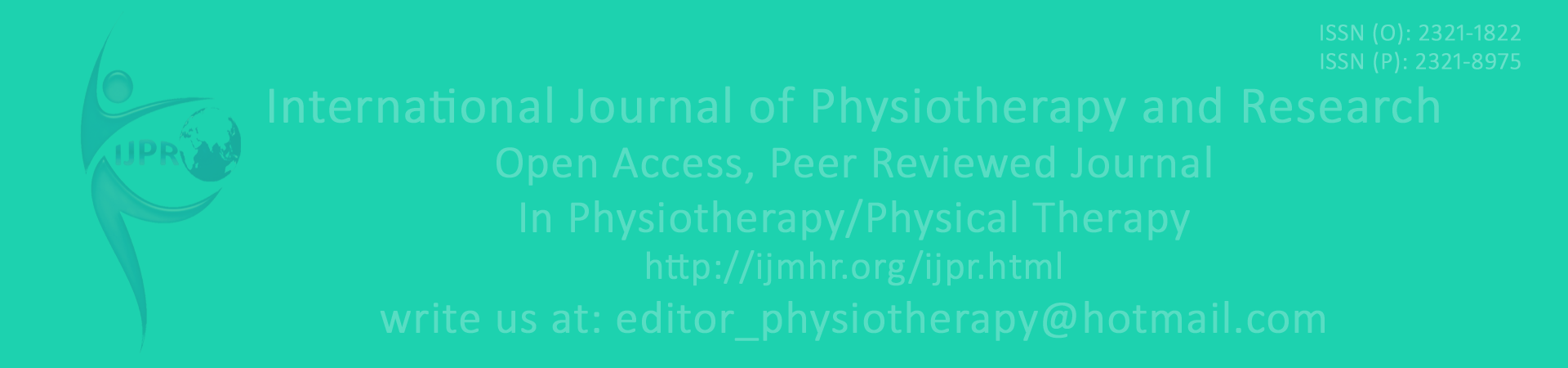 physical therapy journal author guidelines